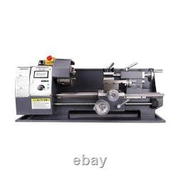 Variable-Speed DC Motor 750w Lathe 8x16 milling Automatic Mini Metal