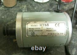 Variable Speed Drive Motor For Emco Unimat Sl Lathes 240v 100w Pm DC Motor