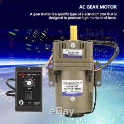 Variable Speed Motor Single Phase Asynchronous Motor Electric Alternative Motor