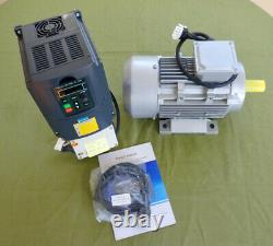 Variable Speed and 3 HP Motor Control Kit with Forward & Reverse-110V Input. New