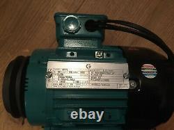 Variable Speed motor with inverter single phase 240V in, 0.55kW 0.75HP 1400rpm