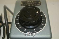 Variarc Transformer (0-140) -120V Type W5M (Variable Speed Motor Control)