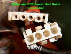 Vertical-Horizontal, Variable Speed, Compact Belt Sander 2 hp TEFC Motor