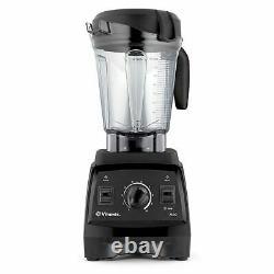 Vitamix 7500 Blender with Low Profile Jar, 2.2 HP Motor Black Variable Speed