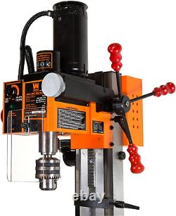 WEN 33013 4.5A Variable Speed Single Phase Compact Benchtop Milling Machine with
