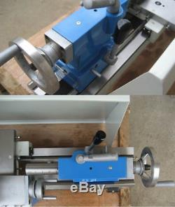 WM210V-G Metal Motor Brushless Lathe Machine Stepless Variable Speed 110-220v