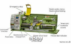 Warco WM 280V Variable Speed Lathe with AC Motor Inverter Drive Imperial