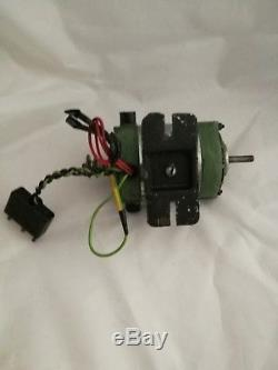 Watchmakers lathe motor and foot controller Variable Speed