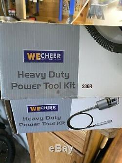 WeCheer Heavy Duty 1/4hp Motor Flex Shaft Tool with Reversible Motor Nice