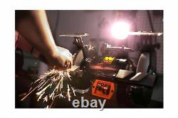 Wen 4280 Bench Grinder Work Light Variable Speed Motor 5 Amp 8 Power Tool New