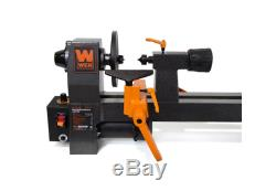 Wen Woodworking Lathes 8 x 12 in. Variable Speed 2-amp Motor Face Plate Benchtop