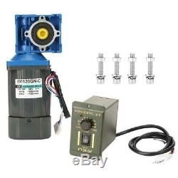Worm Gear Motor Variable Speed Robot Gearmotor Low Speed with Governor AC 220V B