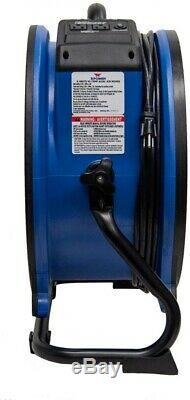 XPOWER 3600 CFM High Temperature 18 in. Variable Speed Sealed Motor Axial Fan