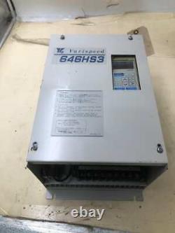 Yaskawa Varispeed 646HS3 CIMR-HFS23P7 Variable Speed Motor Drive AC 230V 3PH