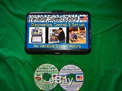 Zebra Instruments VZ-7 Variable Speed Zebra Diagnostic ECM Motor Tester HVAC